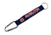 NCAA Auburn Tigers Carabiner Lanyard Keyring