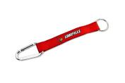 NCAA Louisville Cardinals Carabiner Lanyard Keyring