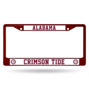 NCAA Coloured Chrome Plate Frame