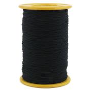 Ogrmar Black Elastic Thread 547 Yard 0.5mm Thickness (1 Roll)