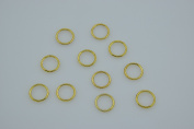 Lingerie Hardware Sewing Clips Bra O Rings Bra Adjusters Bra Finding Acessories Pack of 100Pcs