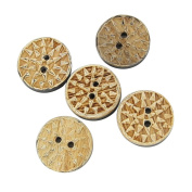 Under the Aztec Sun Custom Horn Button Set