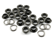 """CRAFTMEmore 3/16"""" (5 MM) Hole Size 720 Sets Metal Grommets Eyelets with Washers For Bead Cores, Clothes, Leather, Canvas"""