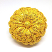 GOLD colour HANDMADE PINS CUSHIONS PUMPKIN PILLOW NEEDLE SEWING FABRIC THAI HANDCRAFT