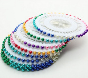 480 Pcs Assorted Colour Faux Pearl Sewing Corsage Needle Ball Head Pins Garments Cutting Needles Scrapbooking Patchwork Cross Stitch Plate Positioning