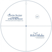 Riley Blake by Lori Holt of Bee in my Bonnet - Circle Ruler 25cm