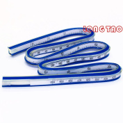 LONG TAO 24 Inch (60cm) Flexible Curve Ruler Flex Design Rule - Great For Engineering Drawing, Design Graphics, Garment Design, All Kinds Of Painting