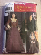Simplicity 9929 Sewing Pattern, Misses' Renaissance Costumes and Hats, Size HH