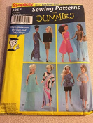 "Simplicity 5257 Sewing Pattern, 11.5"" (29cm) Fashion Doll Clothes"