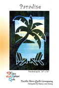 Paradise Palm Tree 2 Fabric Applique Nancy Lee Chong Pacific Rim Quilt Pattern