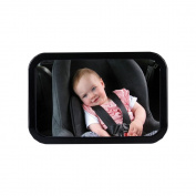 Jiurun Baby View Back Seat Mirror Infant Mirror Rear View Mirror for Baby Carriers drehbar