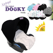 Original Dooky UV + Style Hoody * * * UNIVERSAL Hood/Sunshade – -For Maxi-Cosi Citi/Pebble Car Seat Cabriofix, Römer, etc.), Cabrio, Cybex and other
