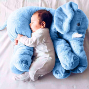 JYSPORT Elephant Pillow Baby Stuffed Plush Toys Animal Sleeping Cushion Kids Comfort Sleep Toy