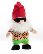 Rudolf Schaffer 5512. 43 cm Horst The Biker Gnome Soft Toy