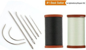 Upholstery Repair Kit Coats Extra Strong Upholstery Thread Plus Heavy Duty Assorted Hand Needles