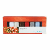 Mettler Thread Metrosene Sewing Set; 8 Spools PLUS ART 1161 Colour Collection - 150m / 164yds
