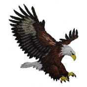 Bald Eagle Applique (Iron on)