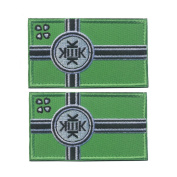 WZT 2 Pcs Tactical Flag Patch - Kek Flag Patch Embroidered Morale Patches