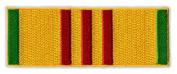 Motorcycle Jacket Embroidered Patch - Vietnam War Service Ribbon Bar - Vest, Cut, Leathers - 8.9cm x 3.2cm