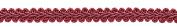 10 Yard Value Pack of 1.3cm Cranberry Basic Trim French Gimp Braid, Style# FGS Colour