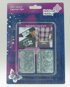 Hot Craft Hobby Stenicls - Small Letters