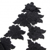 ZhoneMing Fairy Embroidery Trim,Excellent for Clothing, Apparel, Home Accessories ,Bedding