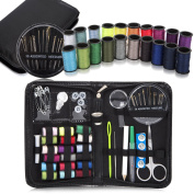 TARTINY Mini Travel Sewing Kit for Home, Travel & Emergencies – Filled with Quality Notions Scissor & Thread – Great Gift