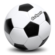GoSports Classic Soccer Ball with Premium Pump