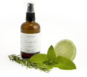 Peppermint, Lime, Rosemary Invigorate Natural Room Spray With High Grade Essential Oils By Made By Coopers - 100ml Glass Bottle