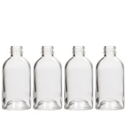 Hosley's Diffuser Boston Round, Glass Diffuser Bottles, 85ml LARGE Boston Round style. Great for storing Essential Oils