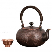 Copper Teapot Handicraft Pure Pure Copper Material Handmade Thickened Kitchen Supplies Water Boil And Tea