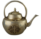 Copper Teapot Handicraft Antique Miscellaneous Bronze Collections Home Decoration Ornaments Made Old Life Pot