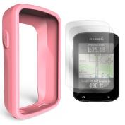 TUSITA Silicone Case + Screen Protector For Garmin Edge 820/Edge Explore 820 GPS Bike Computer Cover