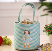 Cute Child Care Bags Lunch Boxes Portable Picnic Bags Camping Food Bags,D