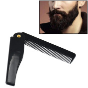 Ularma Hairdressing Folding Comb Beauty Tools for Men Beard or Hair