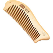 Natural Wooden Fish Shape Comb Heathy Hair Care Cosmetic Hair Combs for Men and Women