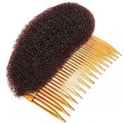 Yeah67886 Hair Fluffy Plate Volume Foam Pad Hair Styler Comb