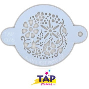 TAP Re-useable Face Paint Stencils - TAP076 Spring Garden