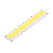 sourcingmap® DC 36-40V 12W 84mmx16mm COB LED Strip Light High Power Lamp Chip Pure White