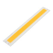 sourcingmap® DC 30-36V 50W 185mmx30mm COB LED Strip Light High Power Lamp Chip Warm White