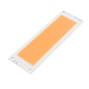 sourcingmap® DC 30-36V 50W 139mmx45mm COB LED Strip Light High Power Lamp Chip Warm White