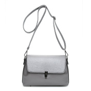 Grey High Quality Simple Style Women's Cross-body Bags Top Handle Bag Small Handbags Baguettes