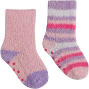Baby Girls Super Soft & Fluffy Cosy Gripper Socks