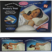 CONTOUR MEMORY FOAM PILLOW NECK BACK SUPPORT ORTHOPAEDIC FIRM HEAD PILLOWS**New