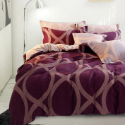 Spring And Autumn Paragraph Simple Cotton Bedding Super Soft Warm Home Textile Suite,Venus