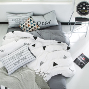 European Simple Bed Sheets Fashion Personality Cotton Bedding,Onemetersunny-1.5/1.8