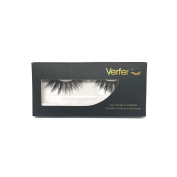 VERFER false eyelashes made of high quality soft synthetic with natural 3D effect
