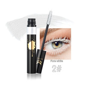 TOPBeauty Colourful Mascara Eye Makeup Set Lengthening Curling Quick Dry Natural Eyelash Waterproof Long Lasting Cosmetics Pure White