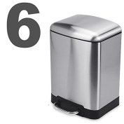 Stainless Steel Trash Cans Home Pedal Creative European Living Room