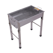 Stainless Steel Folding Barbecue Grill Folding Barbecue Grill Portable Barbecue Pits Stainless Steel Grill Charcoal Oven